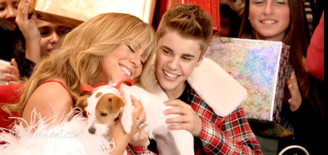 Listen Now! Justin Bieber & Mariah Carey All I Want For Christmas ...