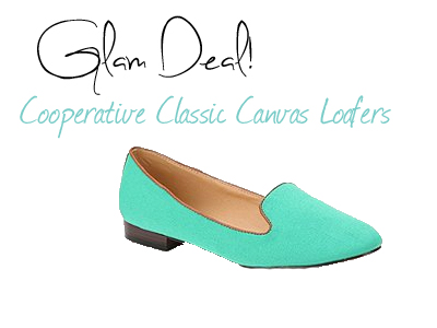 Glam Deal! Cooperative Classic Canvas Loafers