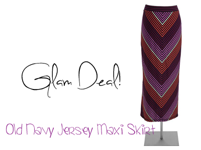 Glam Deal! Old Navy Jersey Maxi Skirt