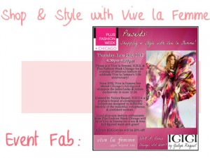 Event Fab Shop & Style with Vive la Femme