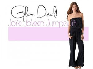 Glam Deal! Joie Joleen Jumpsuit