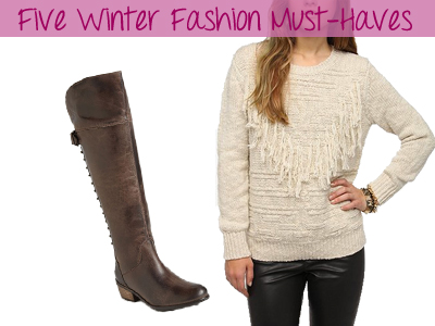 Five Winter Fashion Must-Haves