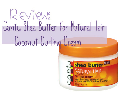 Curling cream for natural hair