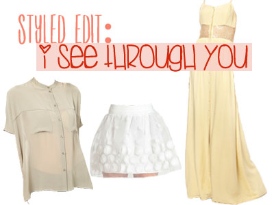 Styled Edit I See Through You