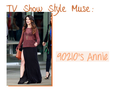 Style tv Series tv Show Style Muse 90210 Annie