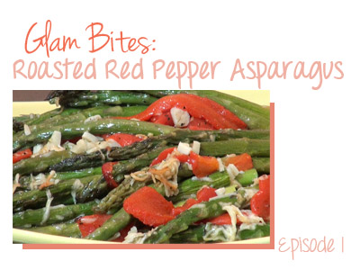food vegetarian recipe vegan asparagus roasted red pepper how to cooking cook