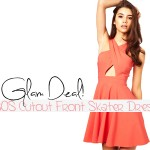 fashion asos skater dress cutout summer spring 2013