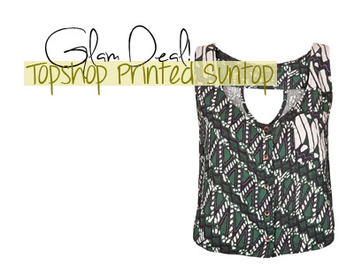 fashion deal topshop prints cropped summer spring 2013
