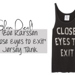 zoe karssen jersey tank fashion the outnet summer spring 2013