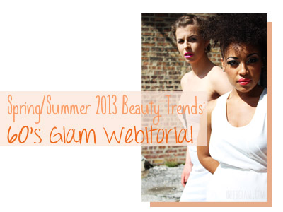 beauty hair natural hair makeup spring summer 2013 trends fashion white sixties 6o twiggy women of color