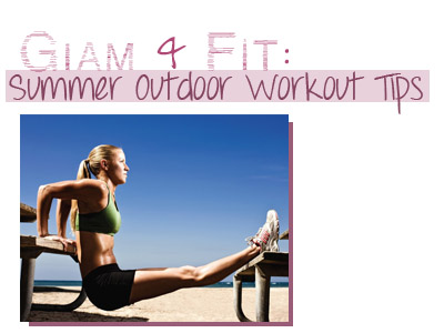fitness summer outdoor workout tips