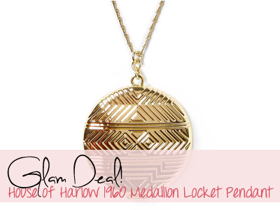 house of harlow locket pendant necklace