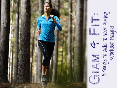 fitness workout music spring playlist