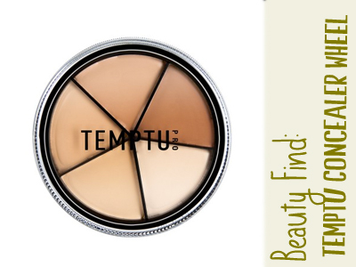 concealer wheel temptu beauty makeup