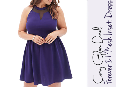 forever 21 curvy plus size dress