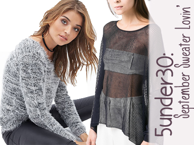sweaters fall trends forever 21 mango