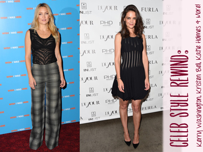 katie holmes kate hudson celebrity fashion