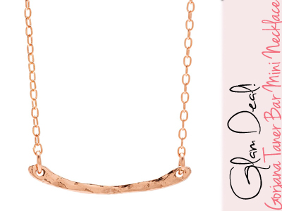 gorjana mini bar necklace jewelry