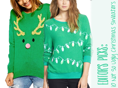 ugly christmas sweater fashion holiday style