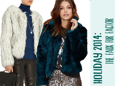 faux fur jacket holiday fashion