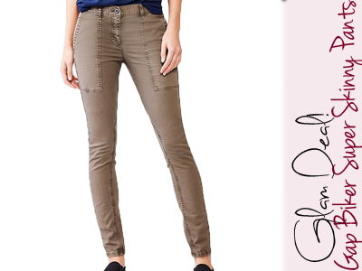 presenting high fashion free delivery Glam Deal! Gap Biker Super Skinny Pants - inHer Glam