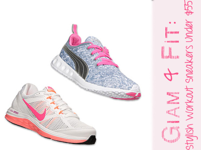 workout fitness sneakers nike puma