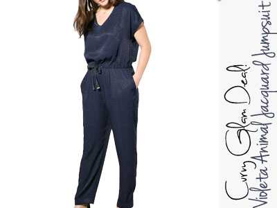 violeta mango plus size jumpsuit fashion