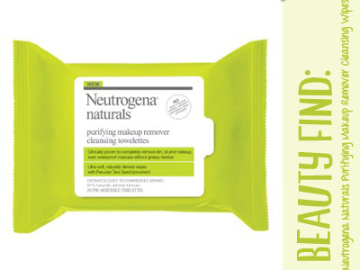 neutrogena naturals makeupe wipes