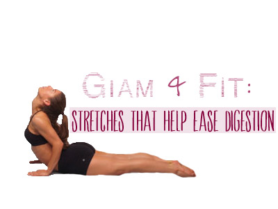 glam  fit stretches that help ease digestion  inher glam